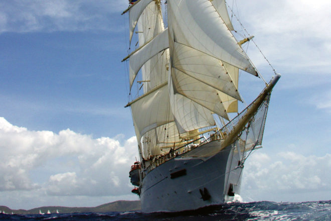 IT reader Jan O'Connell journeyed aboard the tall ship Star Clipper.