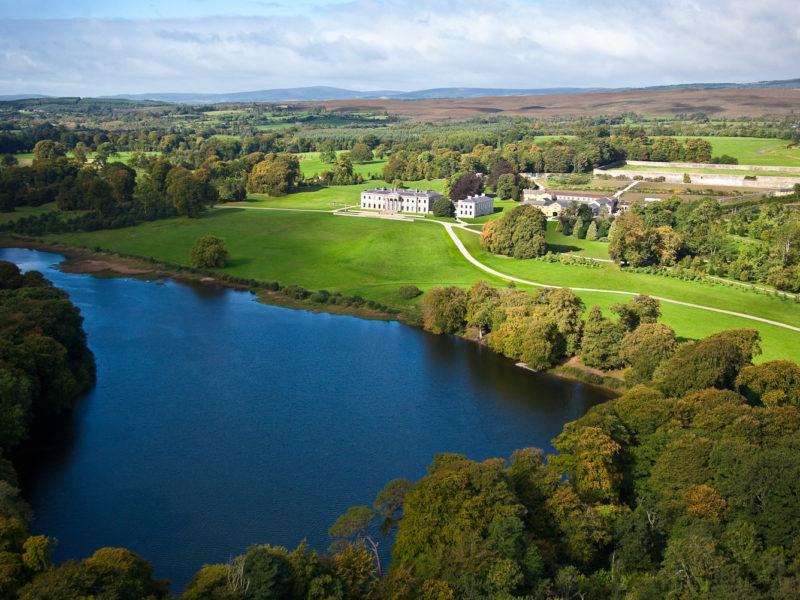 Ballyfin, County Laois, Ireland.