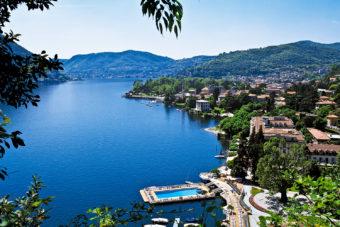 Villa d'Este in Lake Como, Italy.