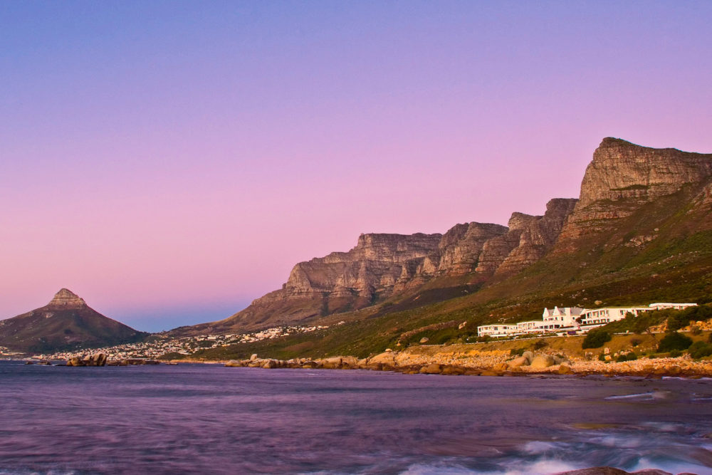 Twelve Apostles Hotel and Spa Cape Town, South Africa.