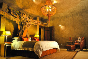 Earth Lodge at Sabi Sabi, South Africa.