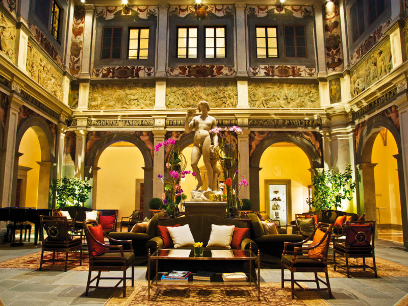 Four Seasons Hotel Firenze, Italy.