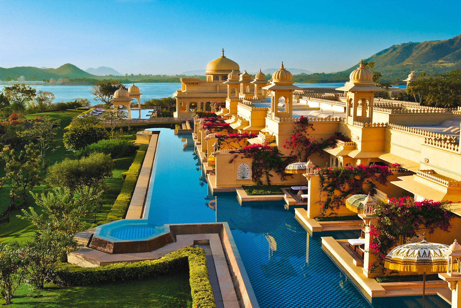 Oberoi Udaivilas in Udaipur, India