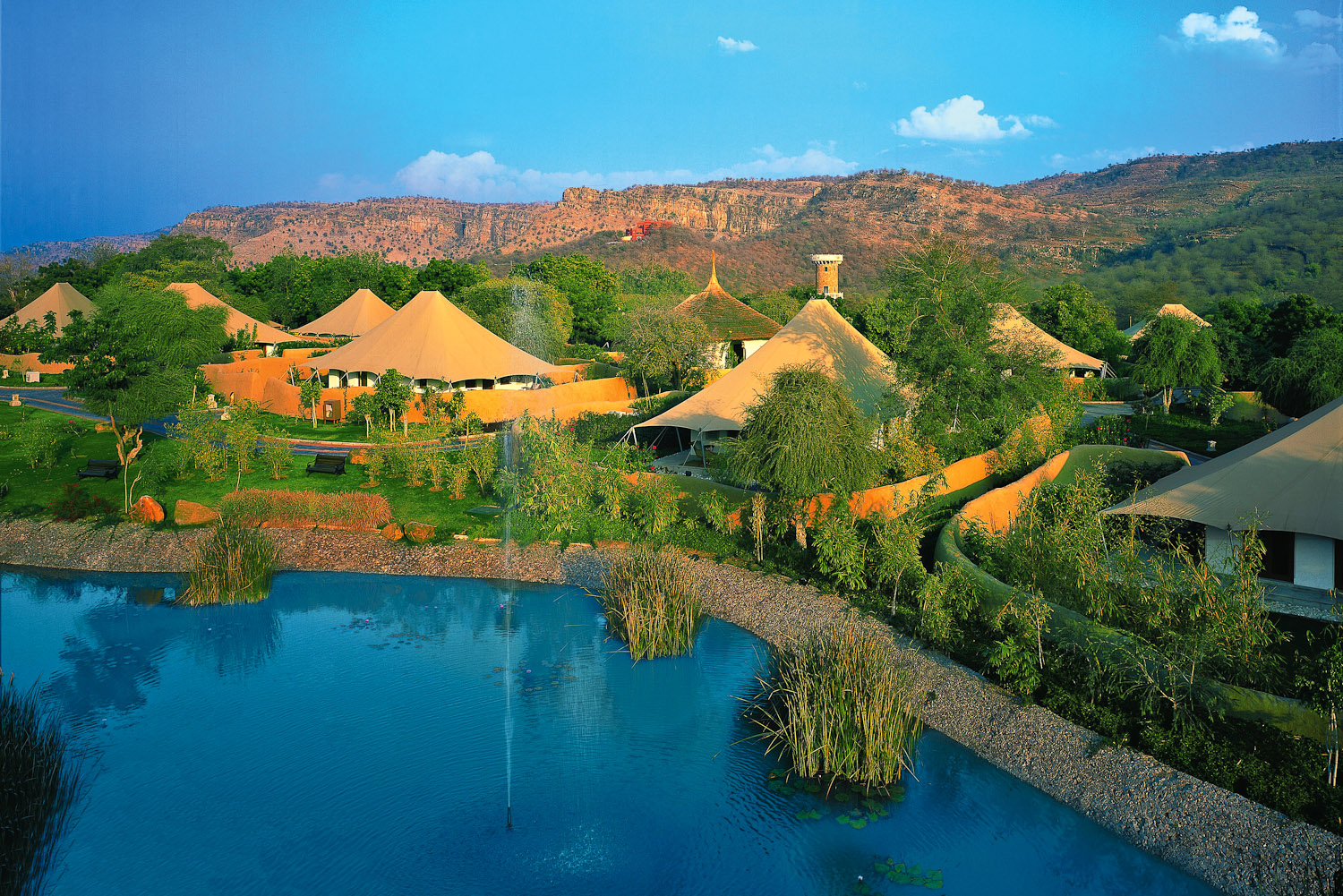 Oberoi Vanyavilas in Ranthambore, India.