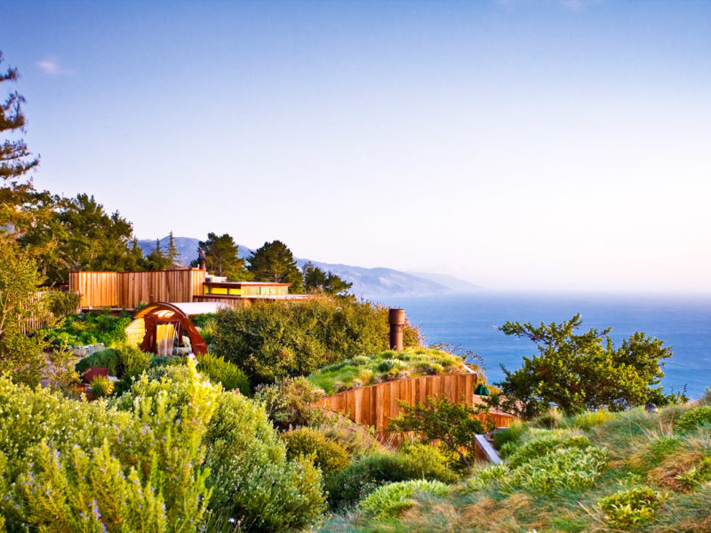 Post Ranch Inn, Big Sur, USA.