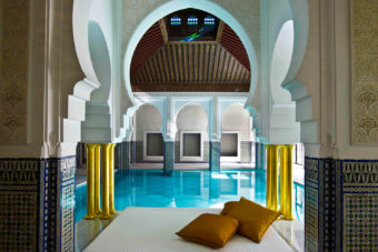 La Mamounia in Marrakesh, Morocco.
