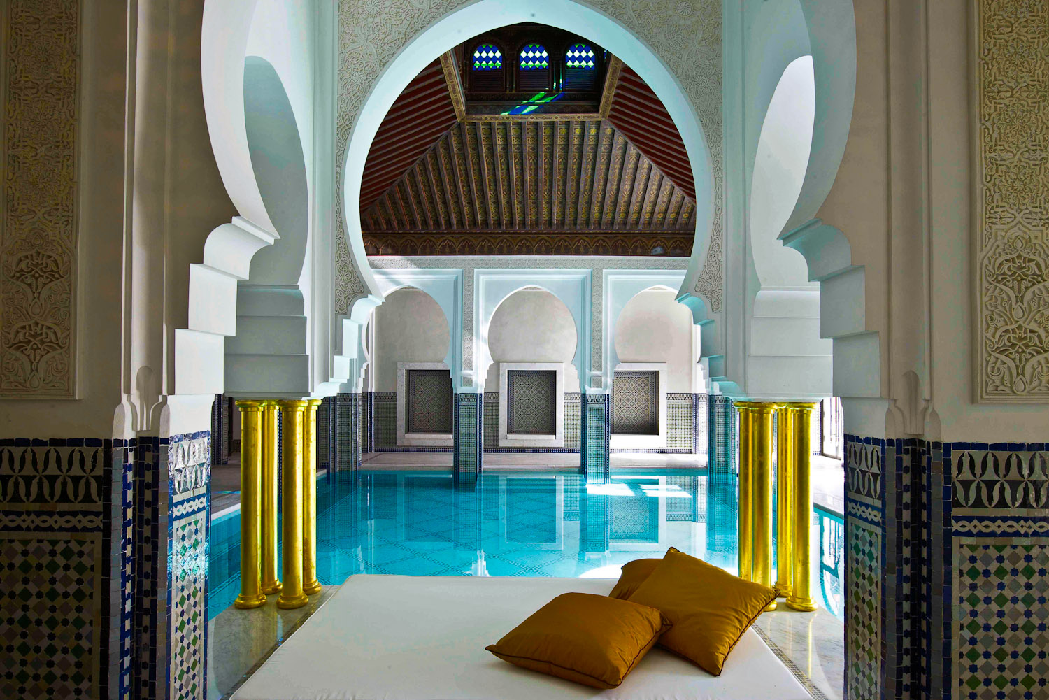 40 la mamounia marrakesh morocco international for Hotel design paris spa