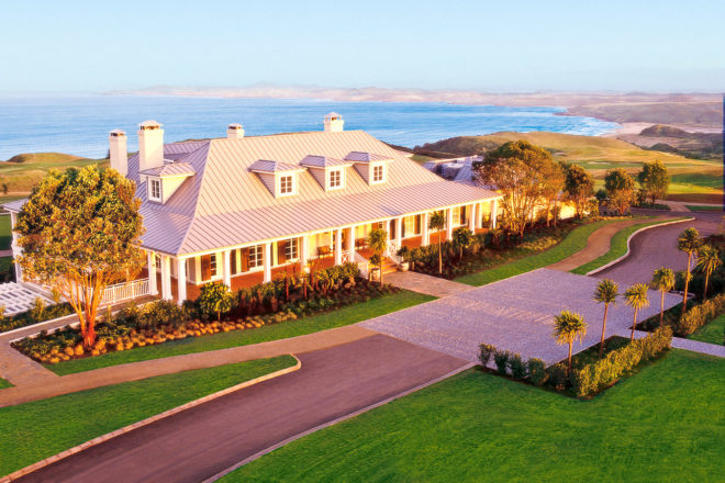 The Lodge at Kauri Cliffs, Matauri Bay, New Zealand.