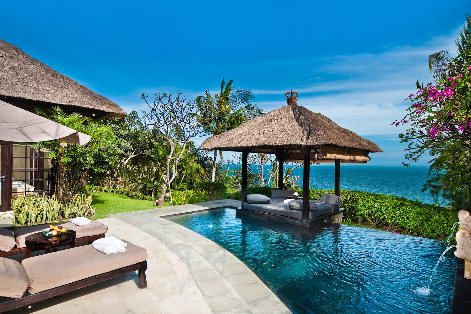 Ayana Resort & Spa in Jimbaran Bay, Indonesia.