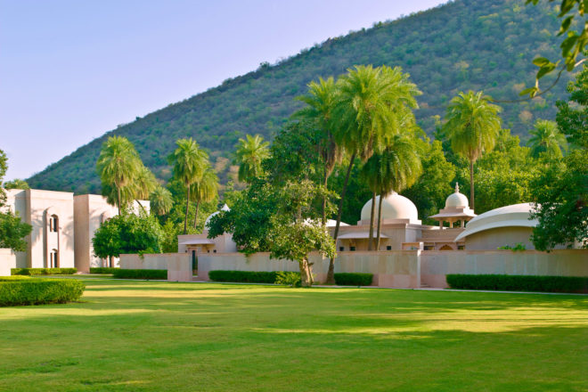 Amanbagh Jaipur, Rajasthan, India.