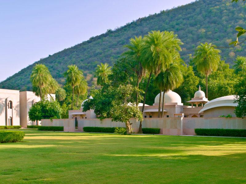 Amanbagh Jaipur, Rajasthan, India.