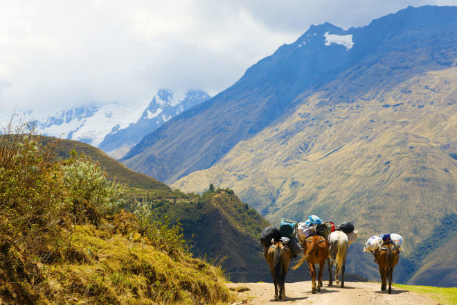 The Salkantay Trek, Peru.