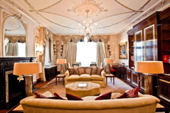 The Connaught in London.