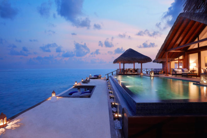 Taj Exotica Resort & Spa in Male, Maldives.