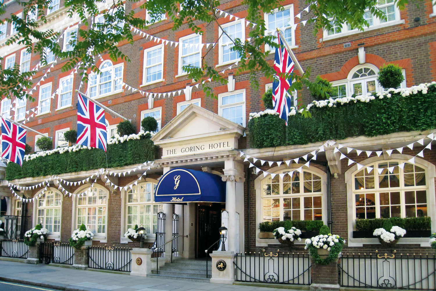 The Goring hotel, London.