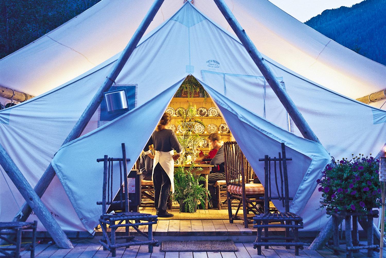 Clayoquot Wilderness Resort in Tofino, Canada.