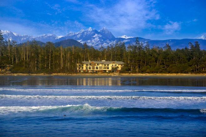 Long Beach Lodge Resort in Tofino, Canada.