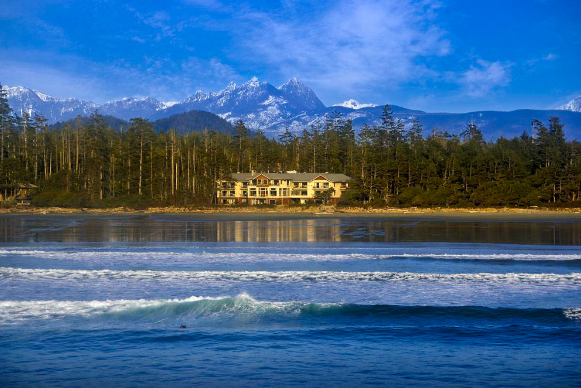 Long Beach Lodge Resort in Tofino, Canada.