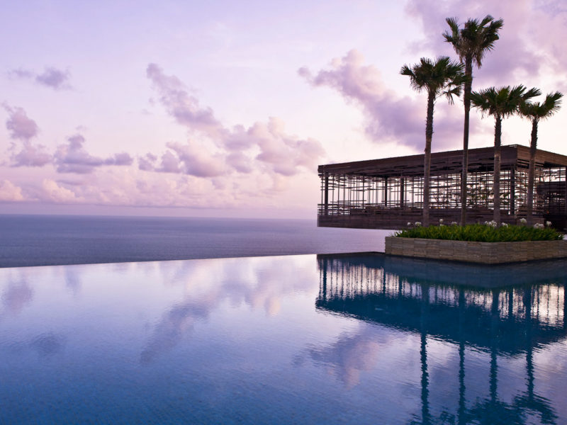 Alila Villas, Uluwatu, Indonesia.