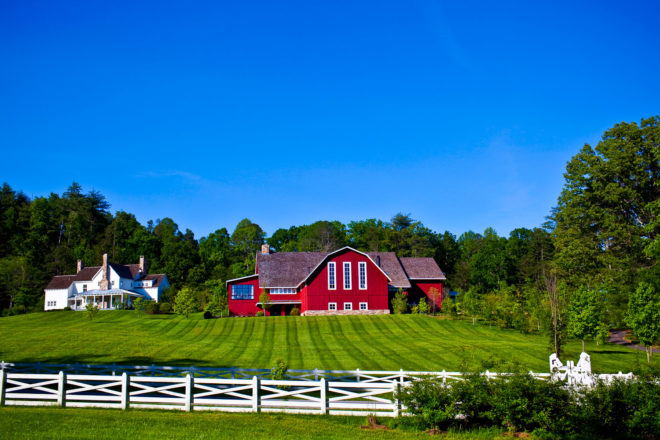 Blackberry Farm, Tennessee, USA.