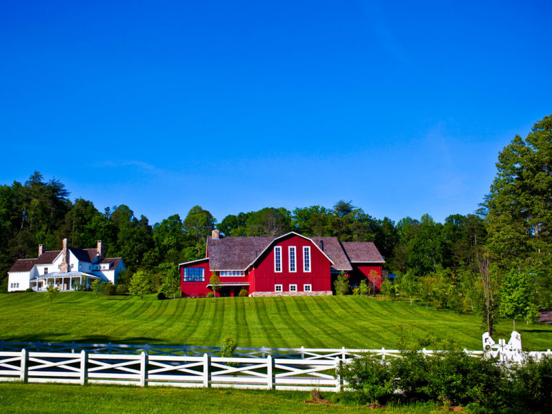 Blackberry Farm, Tennessee, USA.