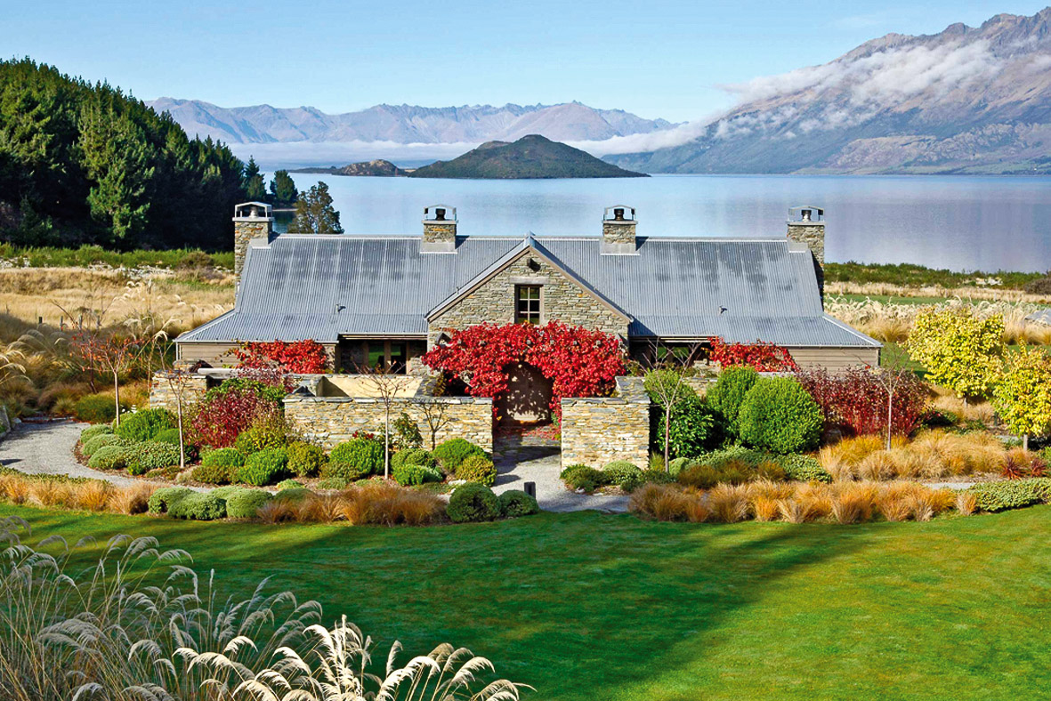 Blanket Bay Lodge, Glenorchy, Otago, New Zealand