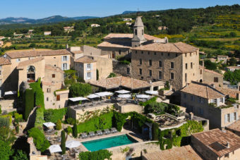Crillon Le Brave in Provence, France.