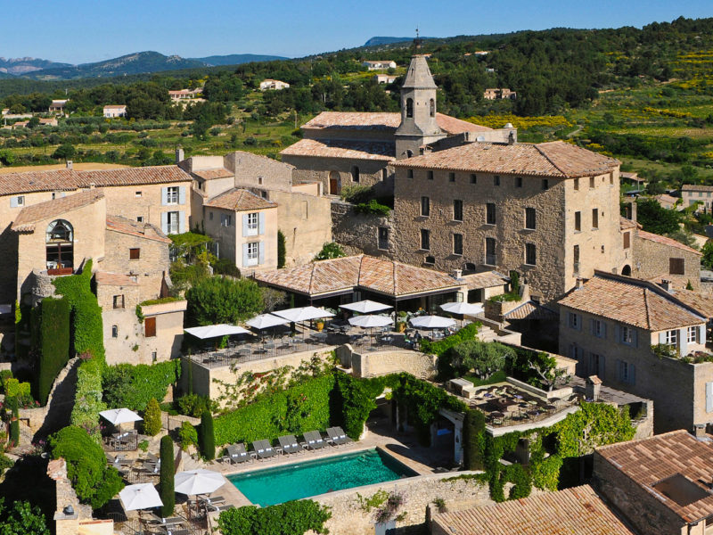 Crillon Le Brave in Provence, France.
