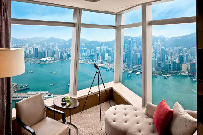 The Ritz-Carlton, Hong Kong.