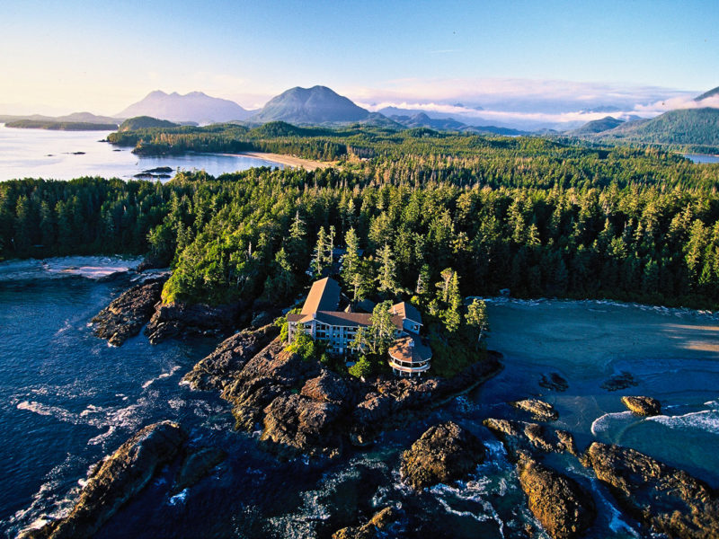 Wickaninnish Inn in Tofino, Canada.