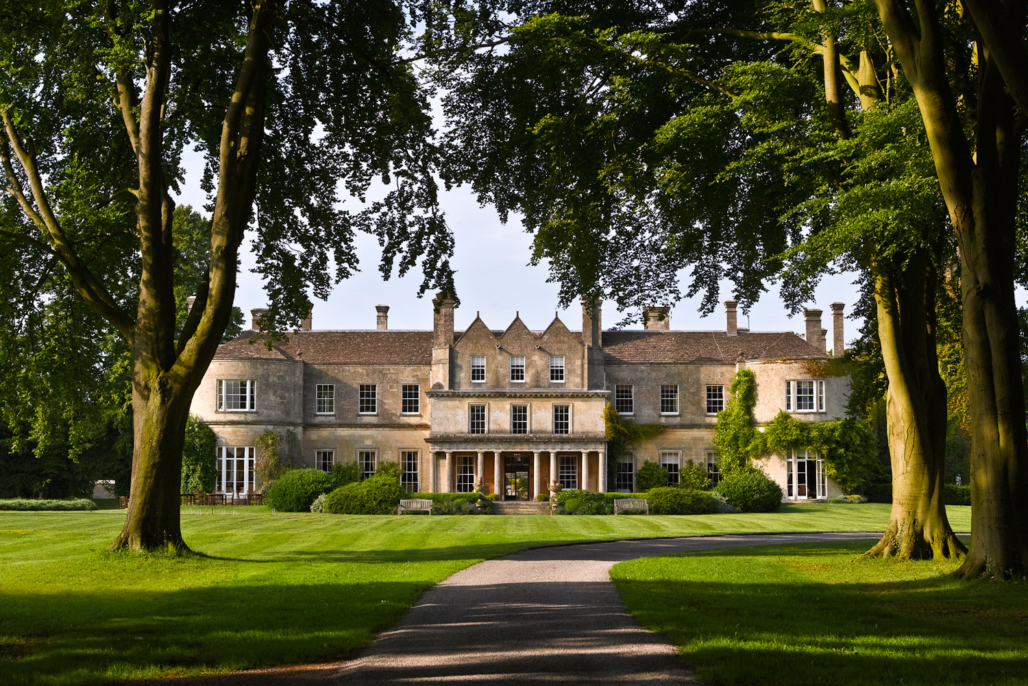Lucknam Park Hotel and Spa in Colerne, UK.