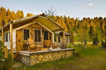 The Ranch at Rock Creek, Montana, USA.