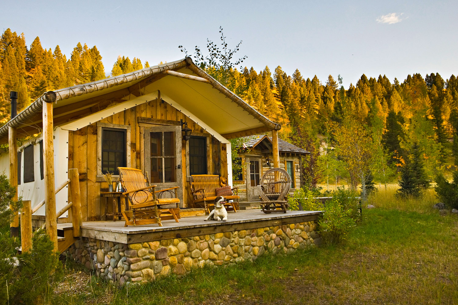 The Ranch at Rock Creek, Montana, USA.