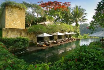 Maya Ubud Resort and Spa in Bali.