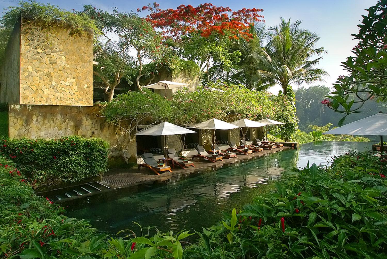 Maya Ubud Resort and Spa in Bali.