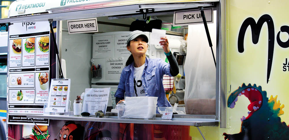 Mogu Japanese Street Eats, one of many multicultural wonders on Vancouver's foodie trail.