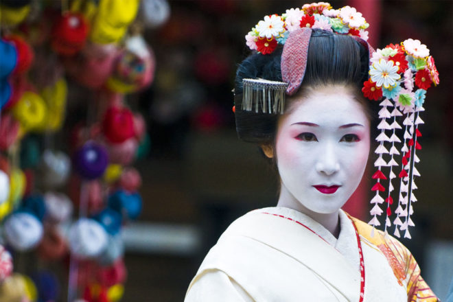 Jidai Matsuri festival in Kyoto, Japan.