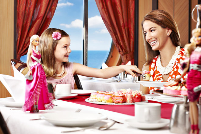 Royal Caribbean Cruises offers Barbie Premium Experience with cabins decorated in Barbie colours and dolls just the beginning.