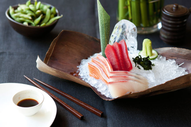 Toko in Sydney's Surry Hills is expanding its classic sashimi and experiemental style into Dubai. Image courtesy of Destination NSW.