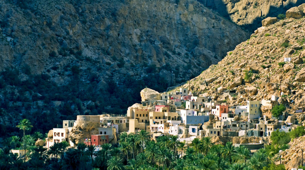 One of the thousands of tiny mountain villages in Oman.