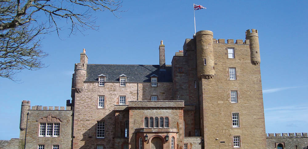 Castle of Mey, Caithness, Scotland.
