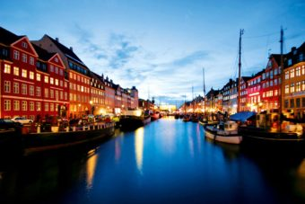 17th Century Waterfront Copenhagen, Denmark