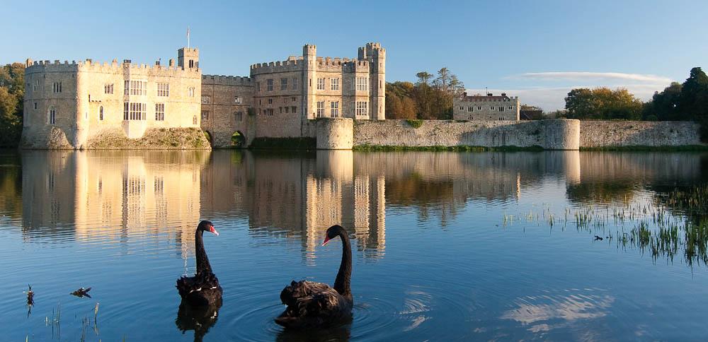 Leeds Castle, Kent, England.