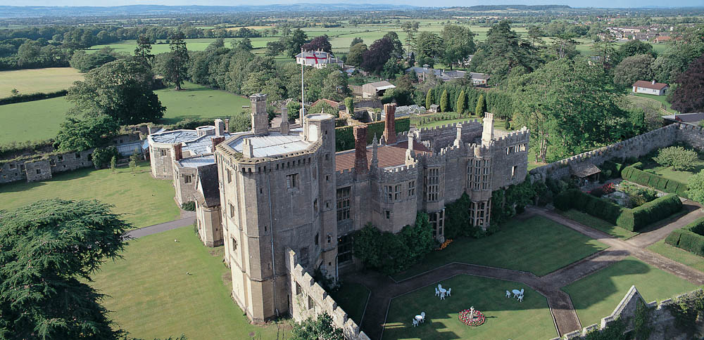 Thornbury Castle, Goucestershire, England.
