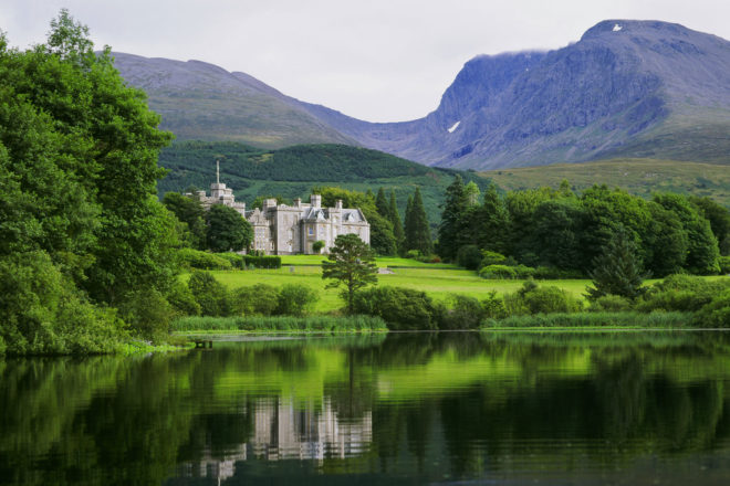 Inverlochy Castle, Fort William, Scotland.