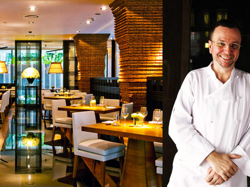 David Thompson's nahm restaurant was placed number 32 in The World's 50 Best Restaurant List.