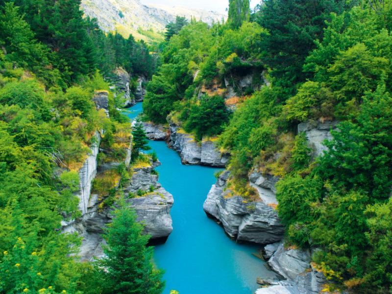 Shotover River near Queenstown, NZ.
