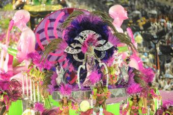 Carnival in Rio de Janeiro, Brazil.
