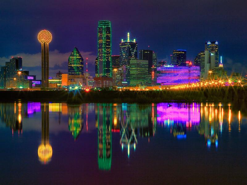 Dallas city skyline, Texas.