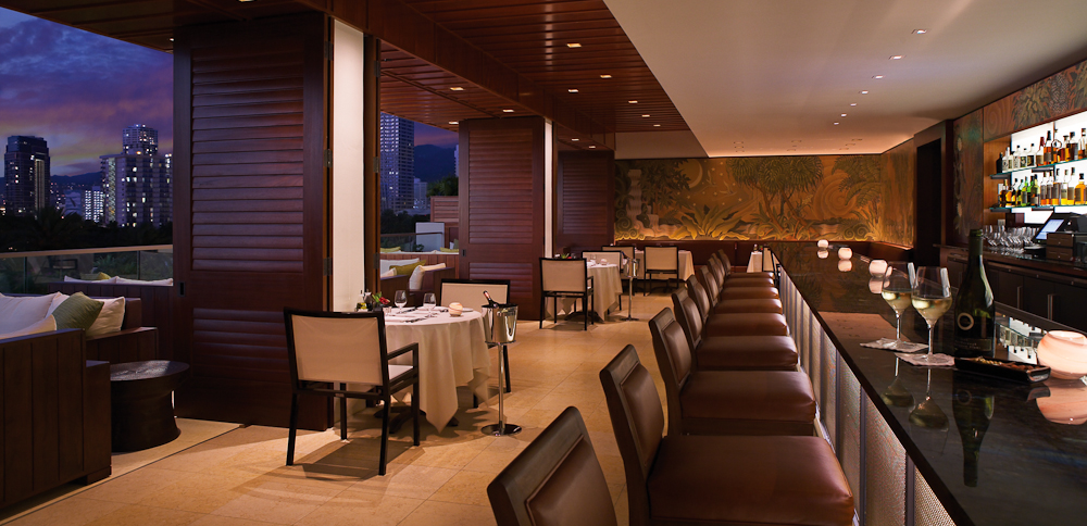 WAI'OLU Lounge at Trump International Hotel Waikiki